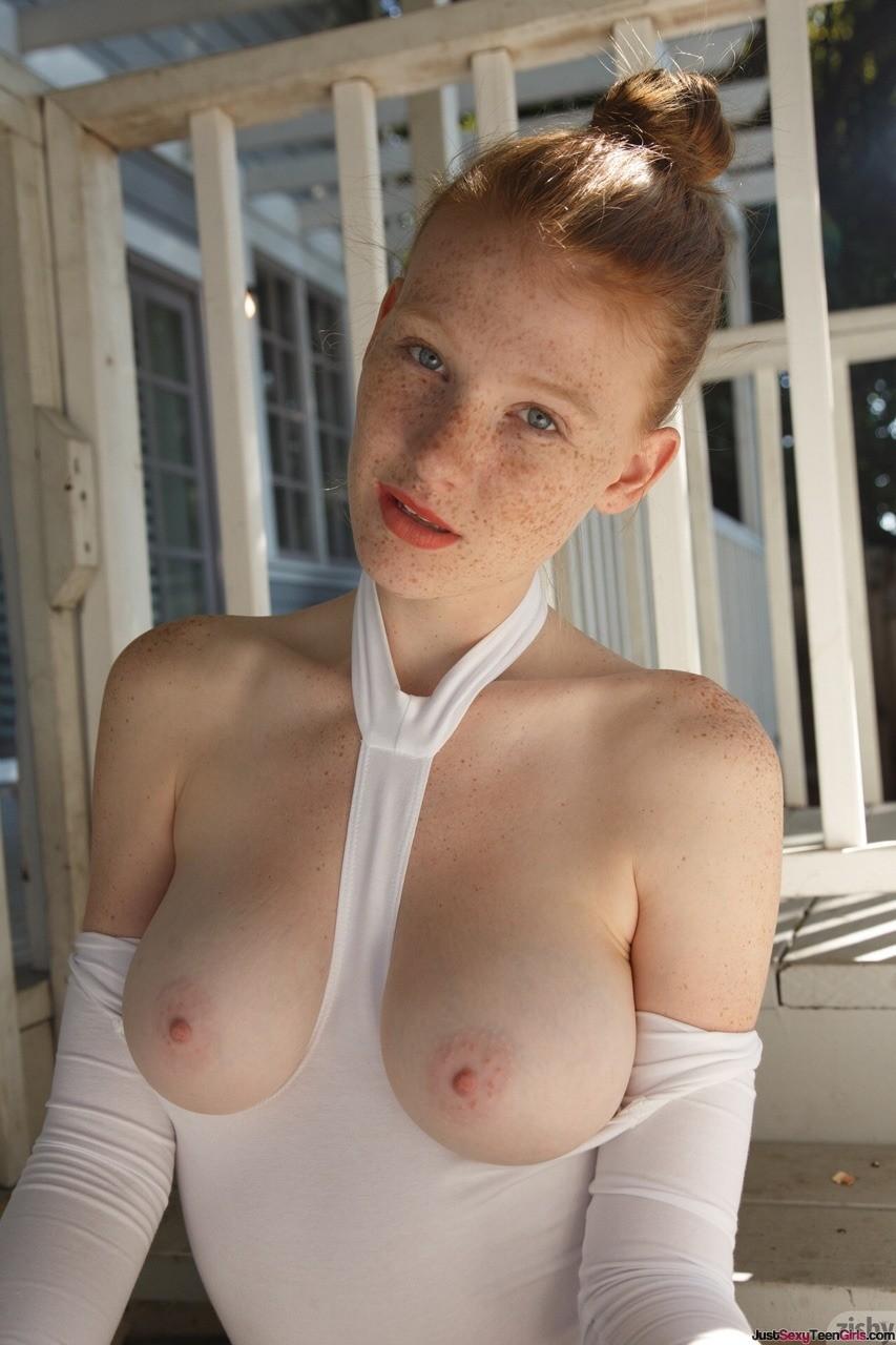 Ginger Teens Milky Perky Tits | JustSexyTeenGirls.com
